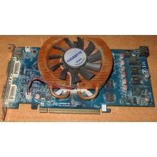Глючная видеокарта 512Mb DDR3 nVidia GeForce 9800GT Gigabyte GV-N98TZL-512H PCI-E (Махачкала)