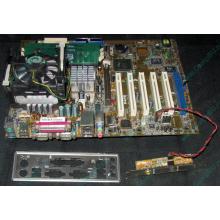 Материнская плата Asus P4PE (FireWire) с процессором Intel Pentium-4 2.4GHz s.478 и памятью 768Mb DDR1 Б/У (Махачкала)